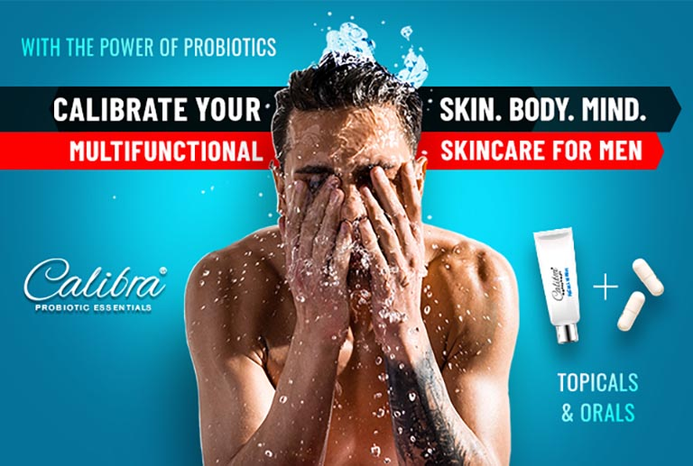 Calibra Men's Probiotic Skincare